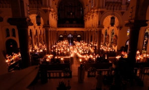 Easter Vigil at Sacred Heart