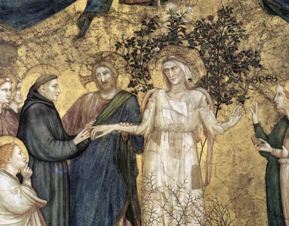St Francis and Lady Poverty