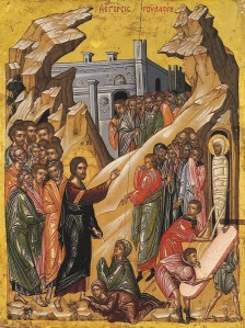 Dodekaorton 6 Raising of Lazarus