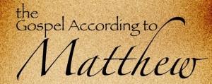 Gospel_Matthew
