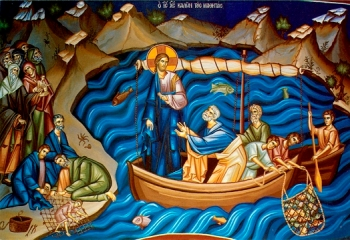 Image result for jesus and the fishermen