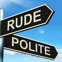 rude-polite